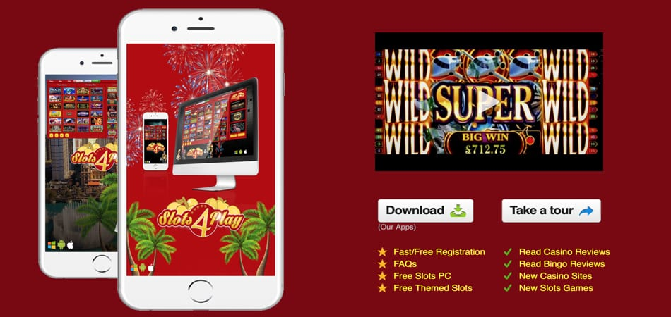 Slots4play Android App
