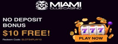 miami club bonus code