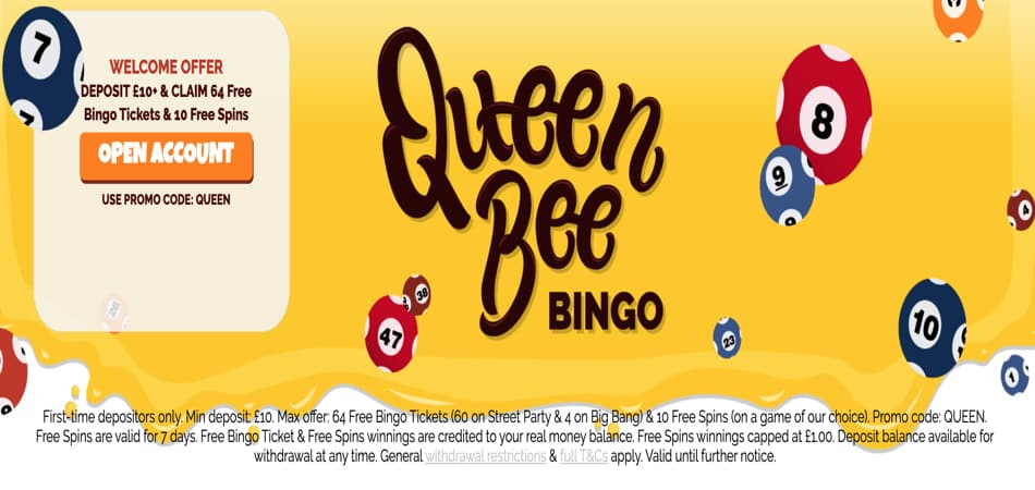 Queen Bee bingo promo code