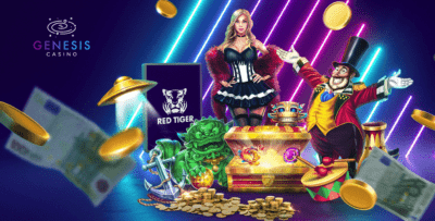 Genesis Casino welcome bonus