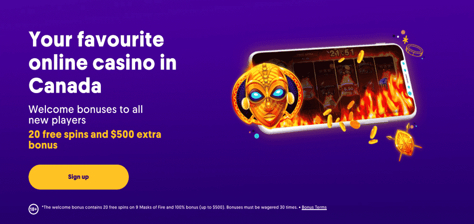 casumo free spins offer canada