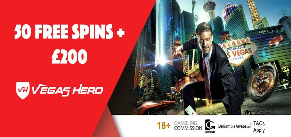 Vegas Hero casino free spins bonus