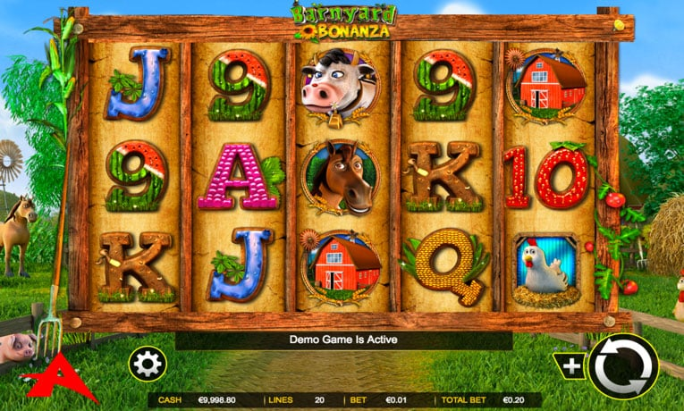 barnyard bonanza slot game
