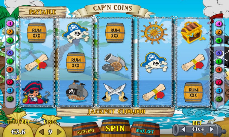 Captain Coins