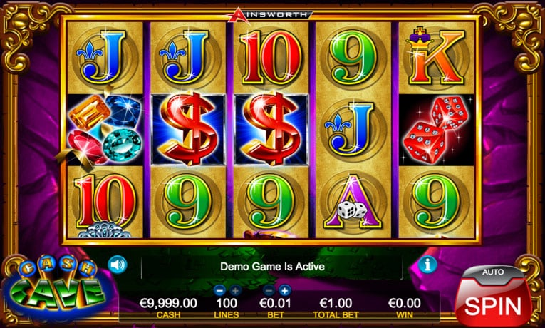 cash cave slot game