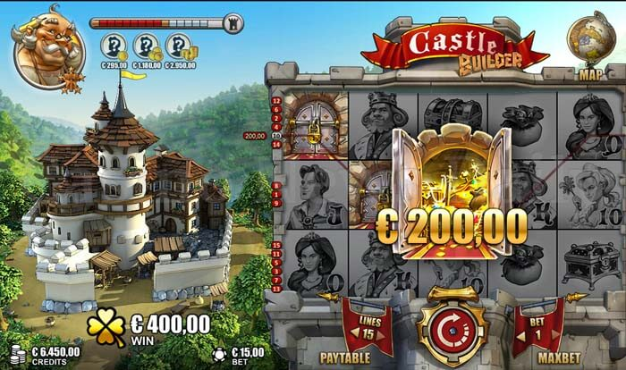 Castle Builder is the foundation of riches