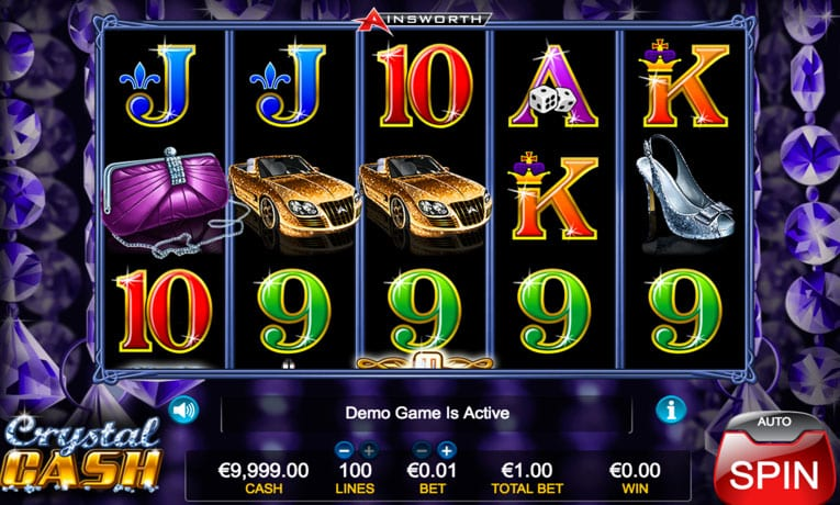 crystal cash slot game