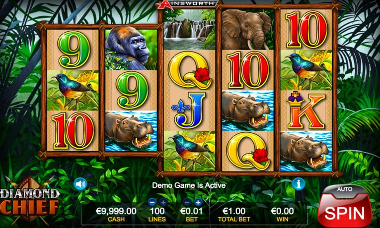diamond chief slot game