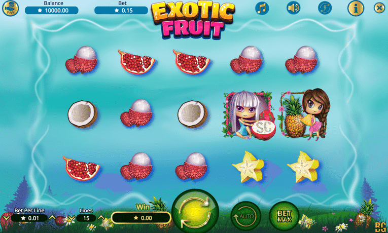 Exotic Fruit Deluxe