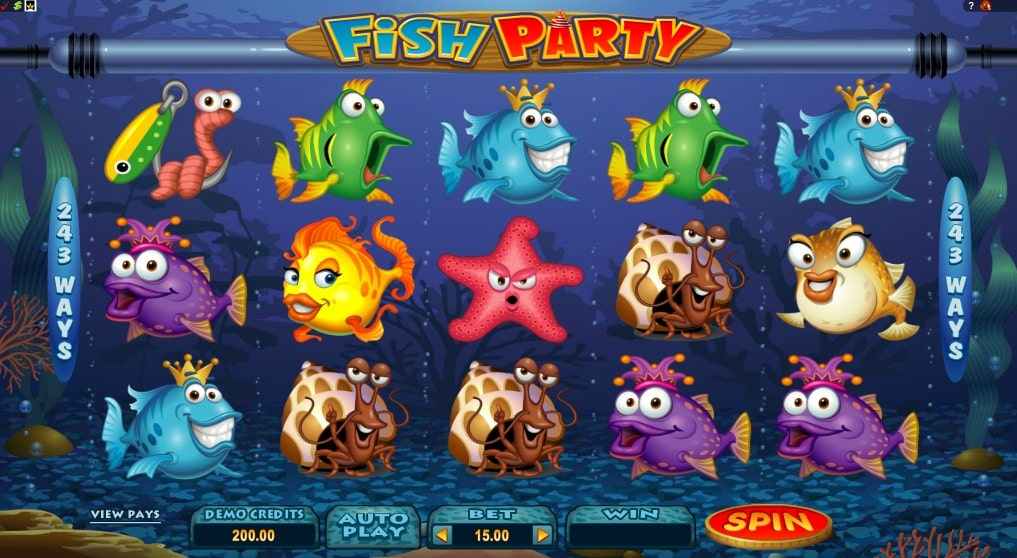 Fish Party Slots has started at Slots4Play