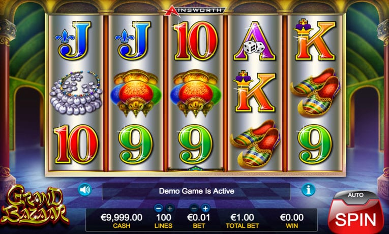 grand bazaar slot game