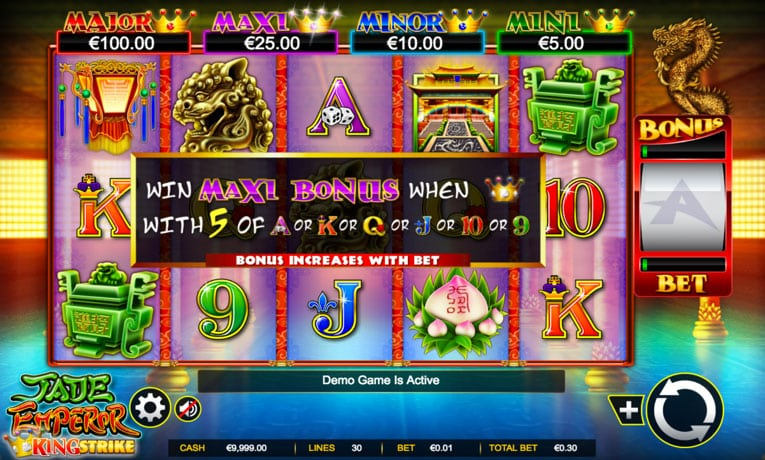 jade emperor slot game