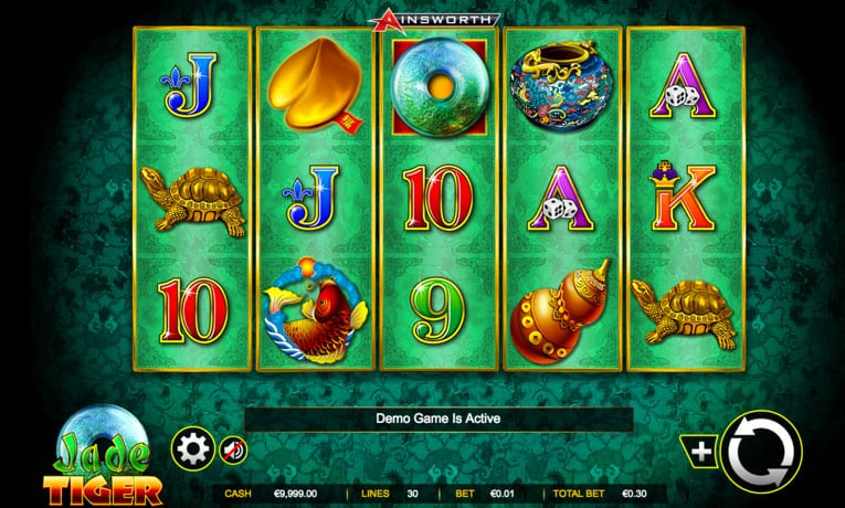jade tiger slot game