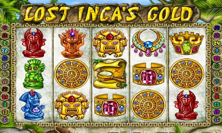 Lost Inca's Gold