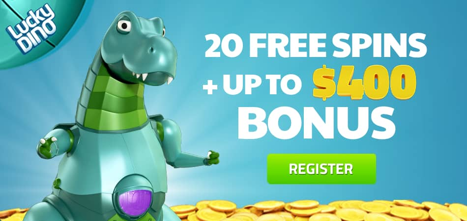 Lucky Dino free spins no wager