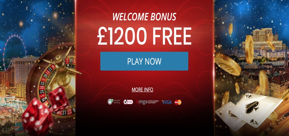 Royal Vegas casino sign up bonus