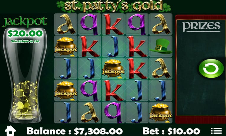 Saint Patty's Gold