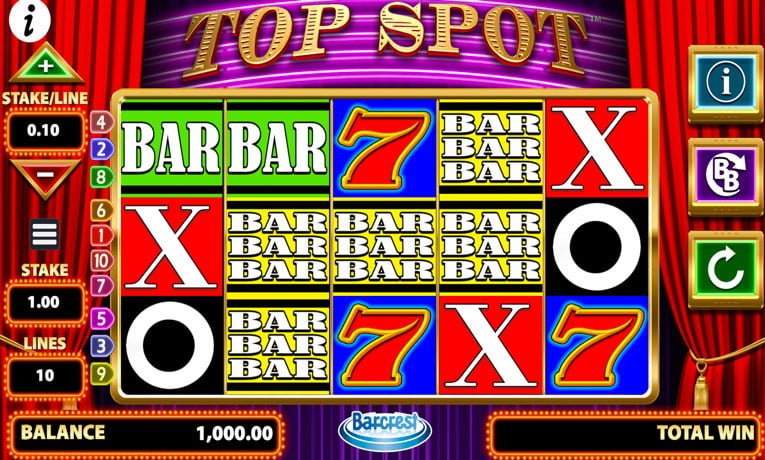 top spot slot game