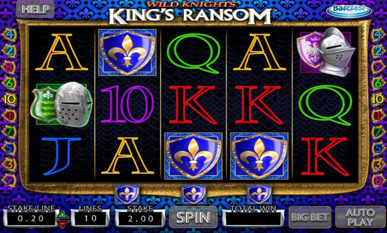 Wild Knights Kings Ransom slot game