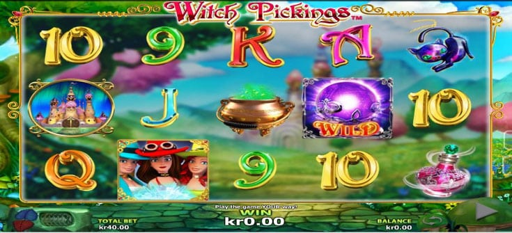 Witch Pickings slot game