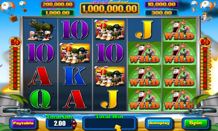 Worms Vegas Millions