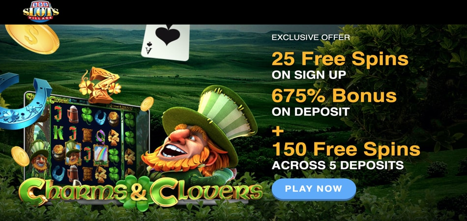 Free Spins in Charms and Clovers