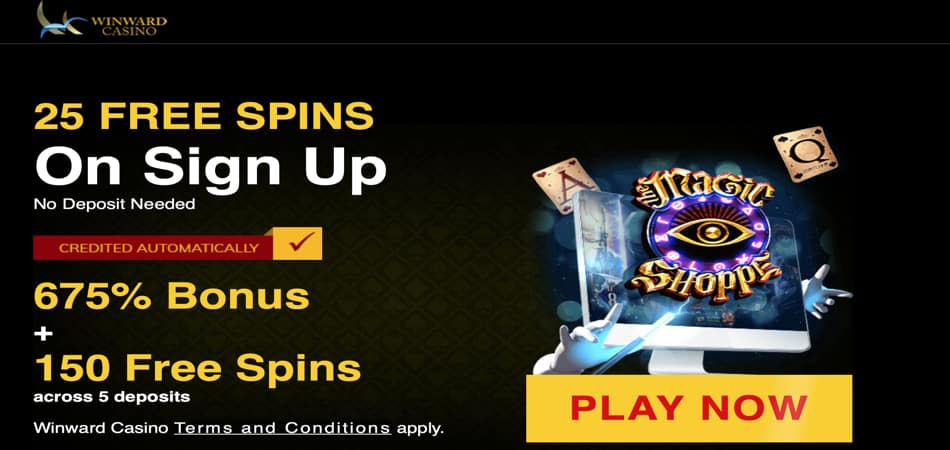 25 free spins in Magic Shoppe