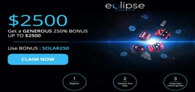Eclipse Casino Бонусные коды