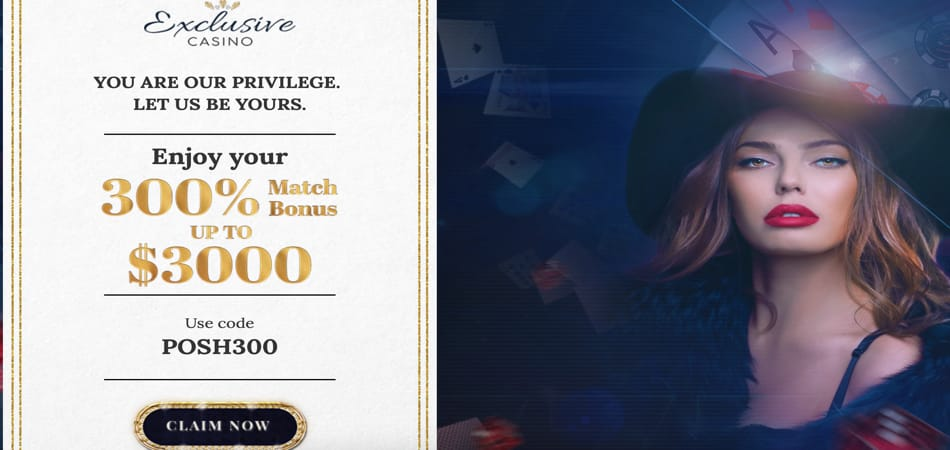 Exclusive Casino Codes for big deposit