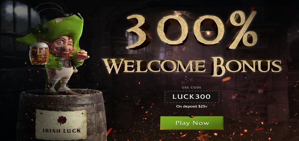 Irish Luck Bonus codes for high value players