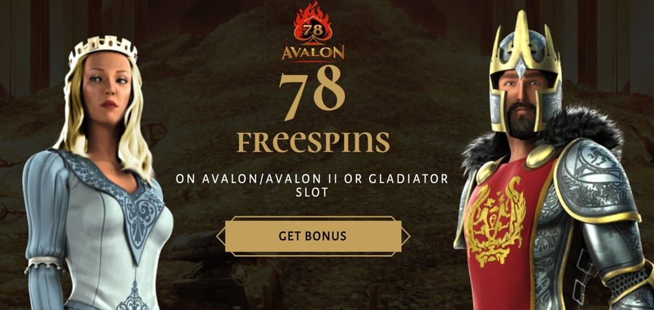 avalon78 welcome bonus