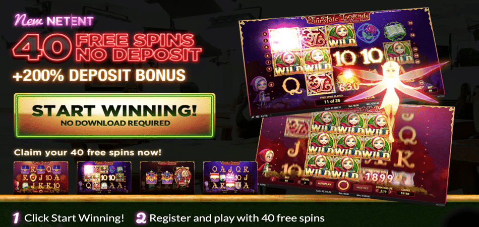 40 no deposit spins in Fairytale Legends – Slotjoint Casino