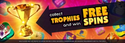win trophies in fluffy spins