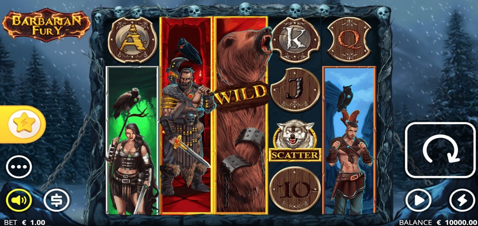 Barbarian Fury slot game