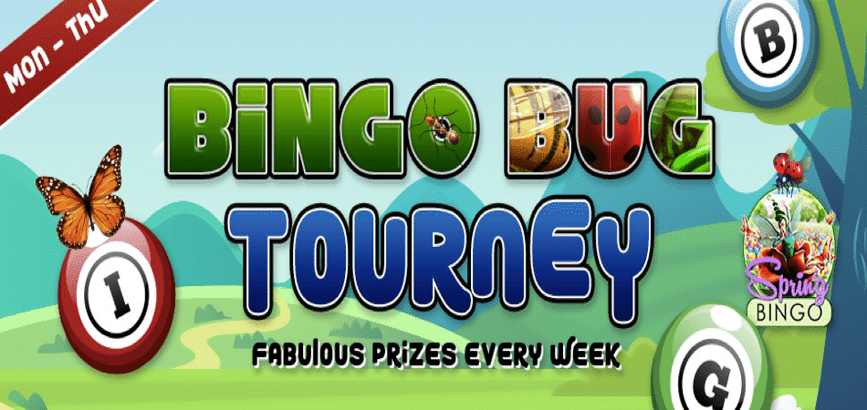 Win $1250 in CyberBingo's Bingo Bug Tourney!