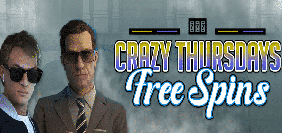 Crazy Thursdays with up to 150 Free Spins at CyberSpins!