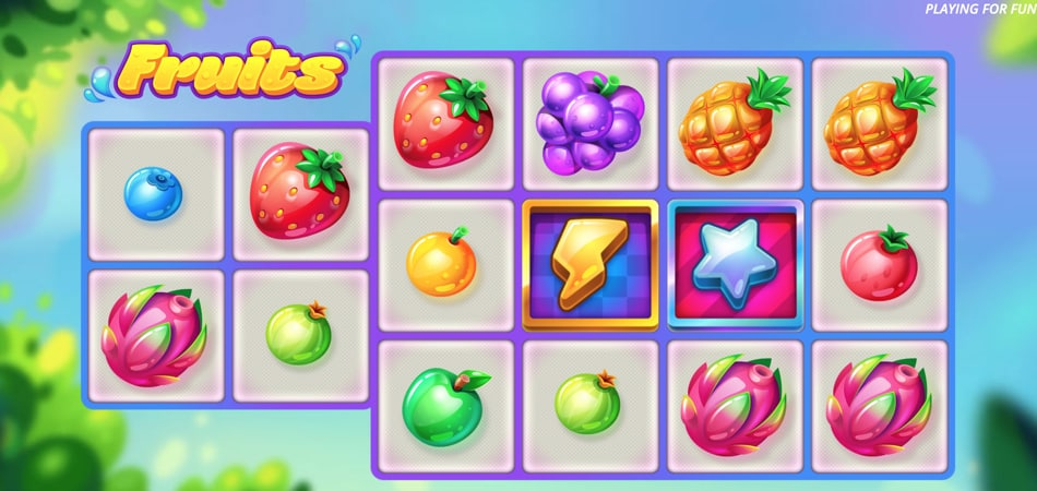 Fruits slot game