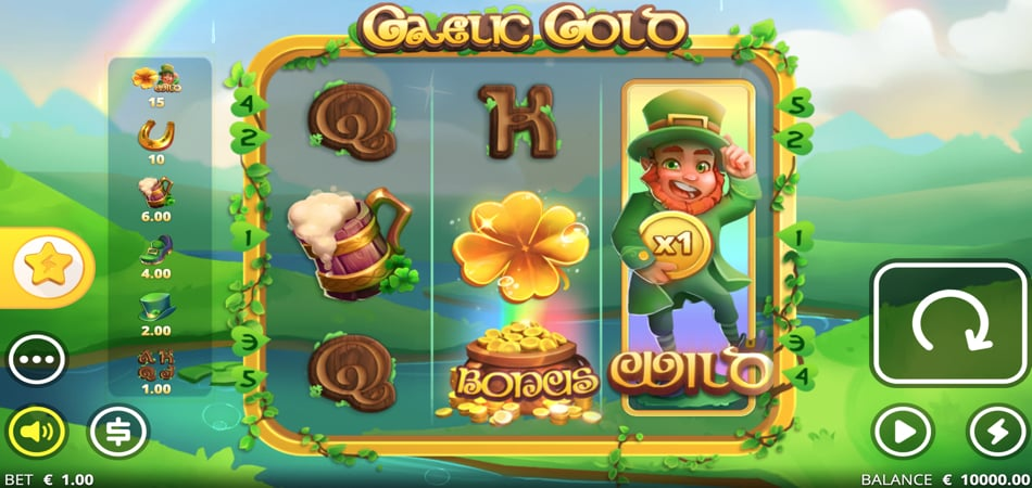 Gaelic Gold slot game