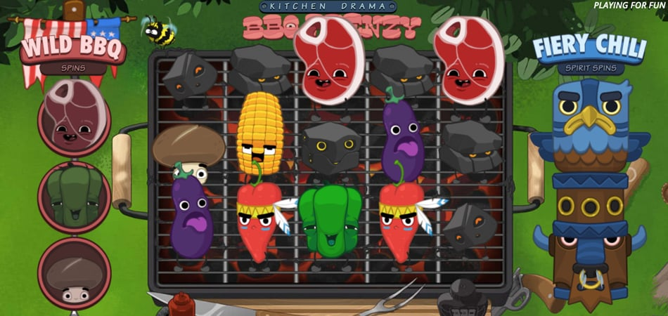 Kitchen Drama BBQ Frenzy slot game