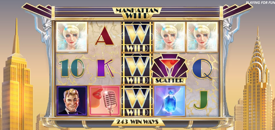Manhattan Goes Wild slot game