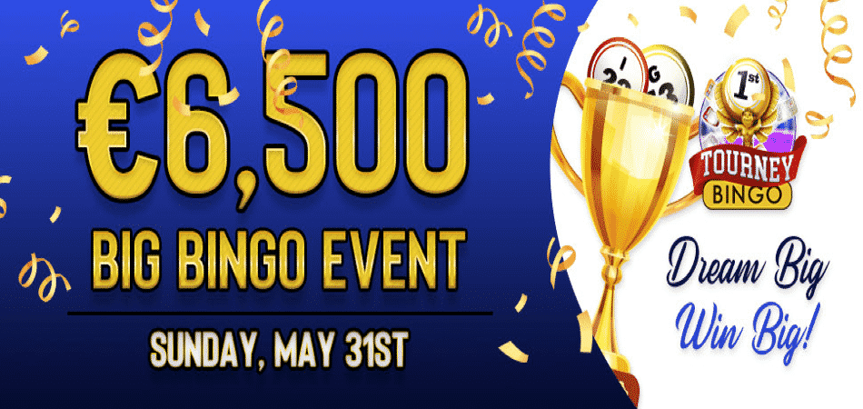 Win $10,000 in the BIG Bingo Event at BingoFest!