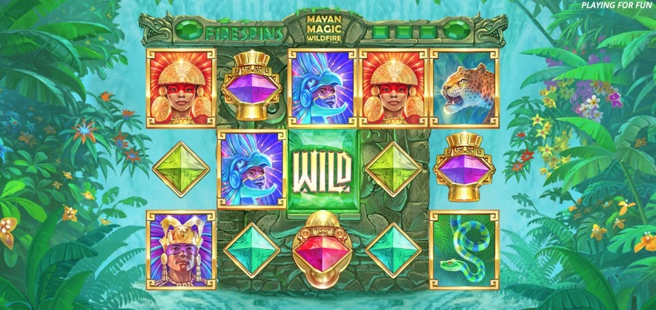 Mayan Magic Wildfire slot game