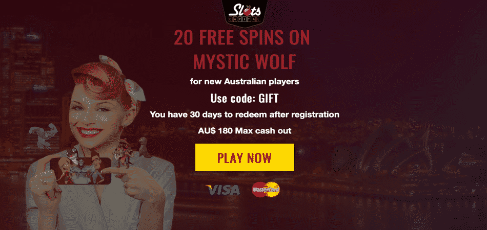 mystic wolf bonus code at slots capital