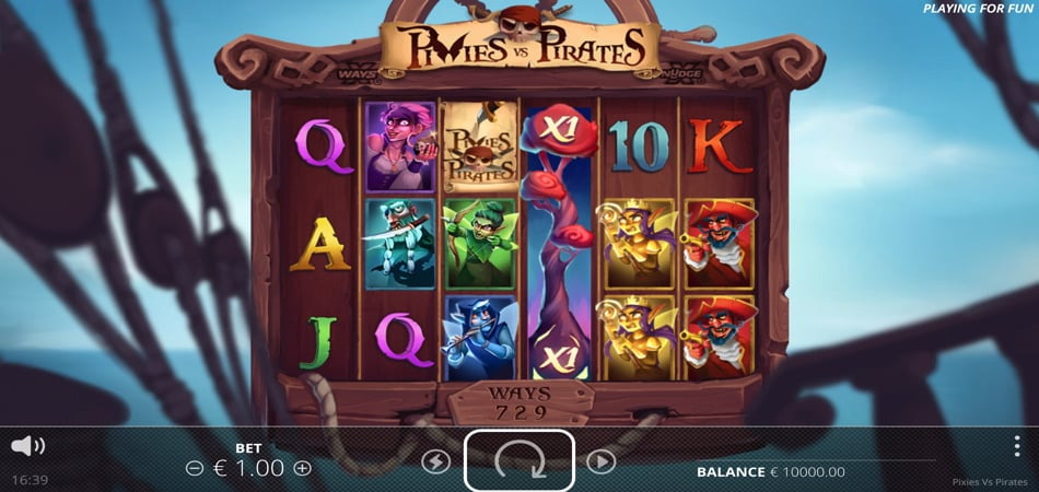 Pixies vs Pirates slot game