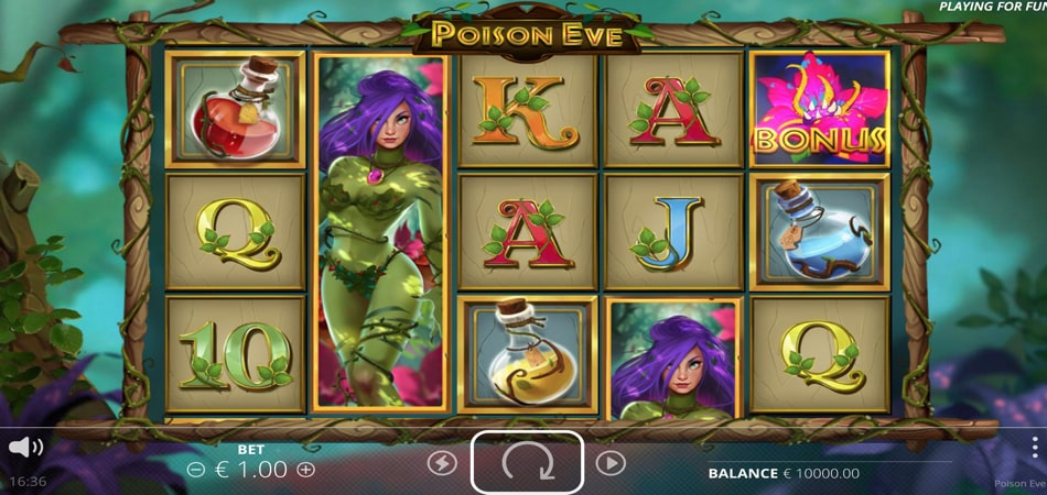 Poison Eve slot game