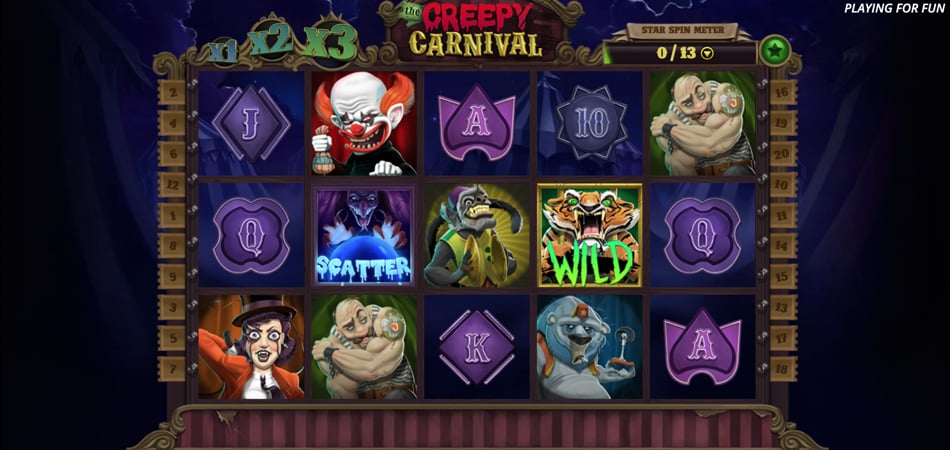The Creepy Carnival slot game