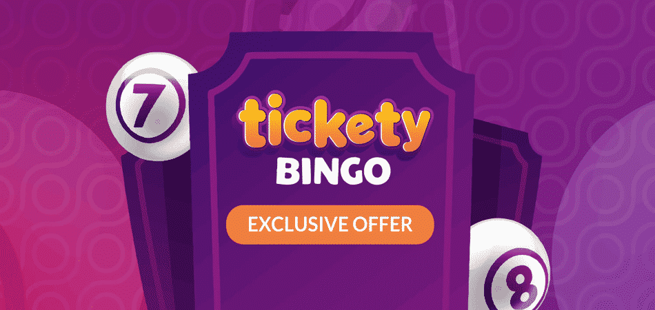 Tickety Bingo 29 Spins & 58 Free Bingo Tickets promo code