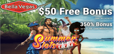 $50 free chip weekend bonus codes