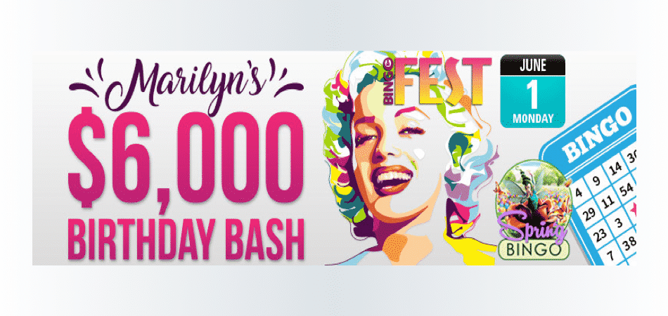 Marilyn Monroe birthday bash