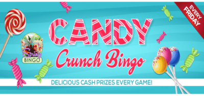 evento de bingo candy crunch